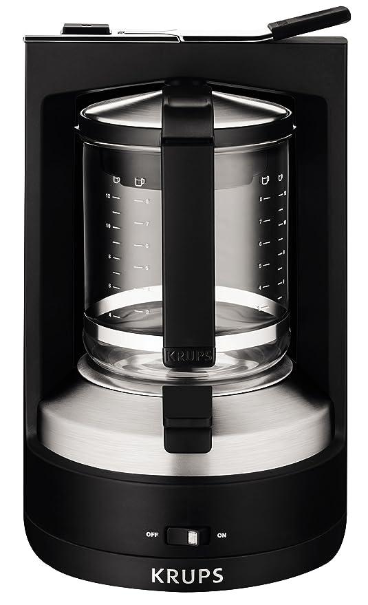 Krups KM468910 - Cafetera de goteo, 850 W, 1.25 L, acero ...