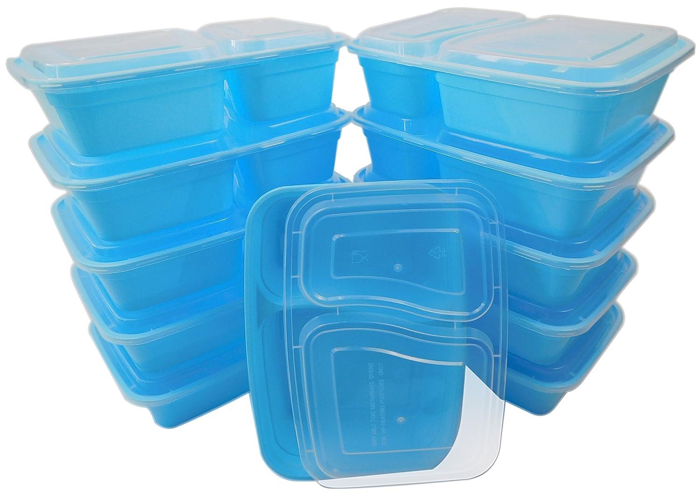 Amazon.com: Mesa to go 20-Pack Bento Almuerzo Cajas de ...