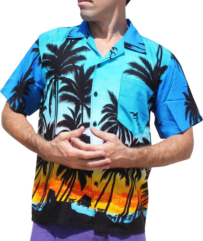 Full Funk Hawaiian Shirt with Coconut Views Short Sleeve Light Rayon Viscose variant35180AMZ