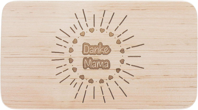 meinbecher Fr/ühst/ücksbrett aus Holz mit Gravur Supermutti als s/ü/ße Geschenkidee zum Muttertag Geschenk f/ür die Beste Mama Brotzeitbrett aus Holz