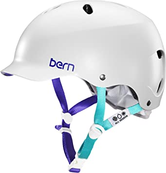 Bern - Casco para Bicicleta Mujer. Multideporte (Skate, Patinaje ...