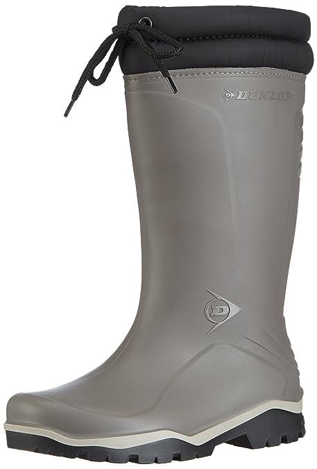 Dunlop K401061 - Galoshes En Acier Émoussé, Gris (grau (grijs) 06), Taille 36