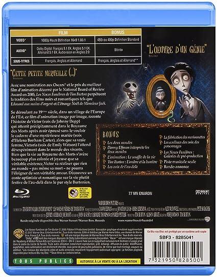 Amazon.com: La Collection Tim Burton - Charlie et la chocolaterie + Les noces funèbres + Sweeney Todd + Dark Shadows [Blu-ray]: Movies & TV