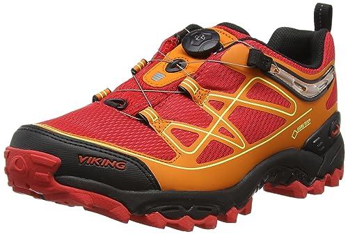 VikingANACONDA Boa IV GTX - Zapatillas de Trekking y Senderismo Unisex Adulto, Color Rojo, Talla 42: Amazon.es: Zapatos y complementos