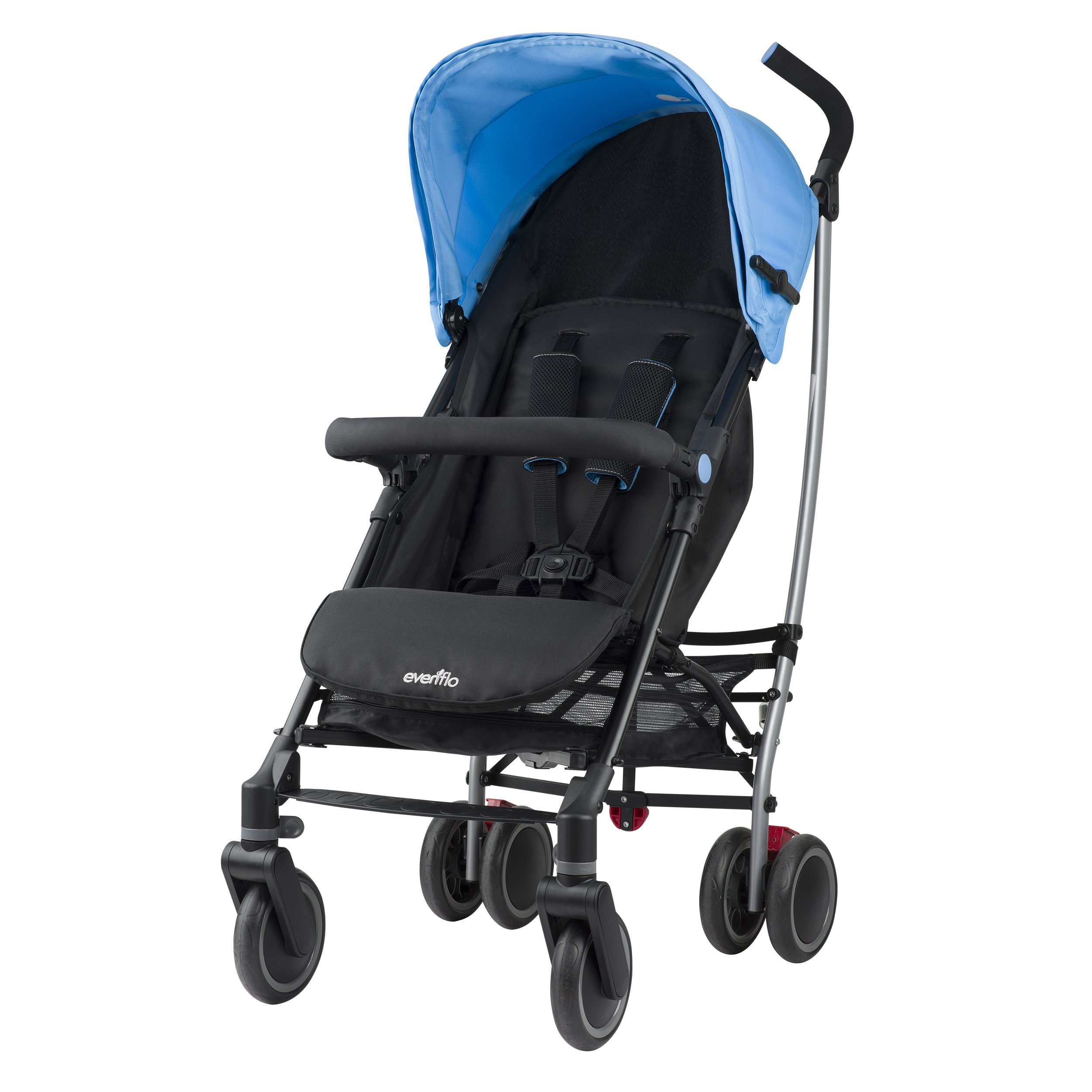 Evenflo Cambridge Stroller, Sky Blue by Evenflo (Image #2)