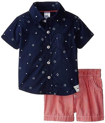 f38a176e5 Amazon.com  Carter s Baby Boys  4th of July Short Set (Baby)  Clothing
