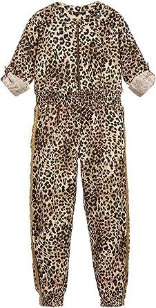 Guess - Chándal para niña con Estampado de Leopardo, Color ...