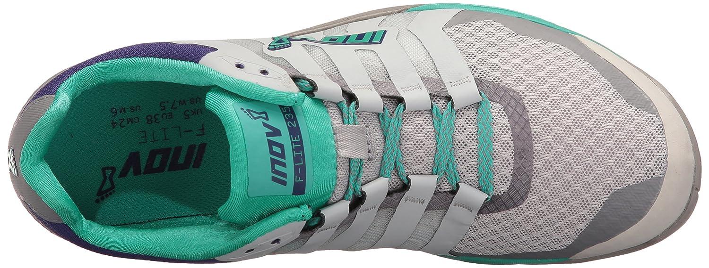 Inov-8 Women's F-Lite 235 V2 Cross-Trainer Shoe B01G50N15E 7 E US|Light Grey/Teal/Purple