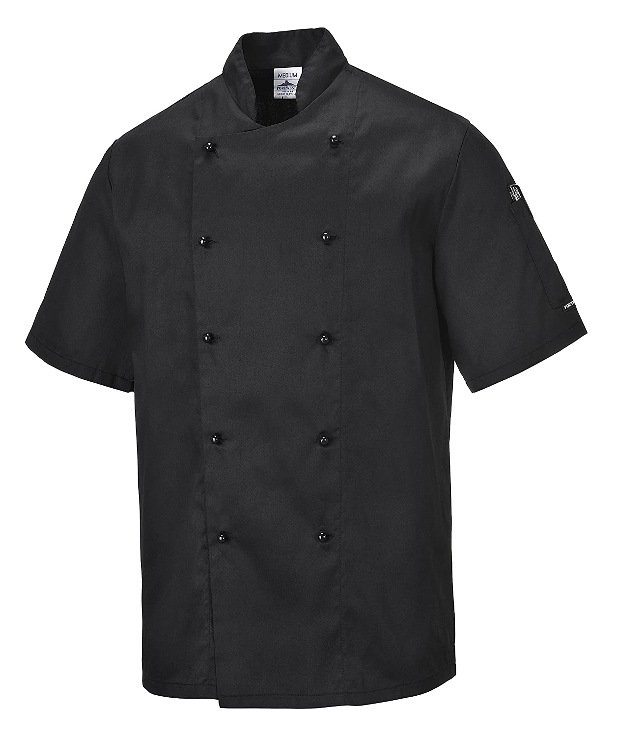 Somerset Chef Jacket Portwest C834RBRXS