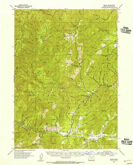 Amazon Com Yellowmaps Selma Or Topo Map 1 62500 Scale 15 X 15