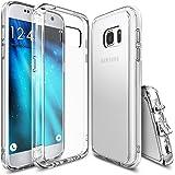 Coque Galaxy S7, Ringke [FUSION] Absorption des chocs TPU Bumper Protection Goutte, Anti-Statique, Résistant aux rayures pour Samsung Galaxy S7 2016 - Crystal View