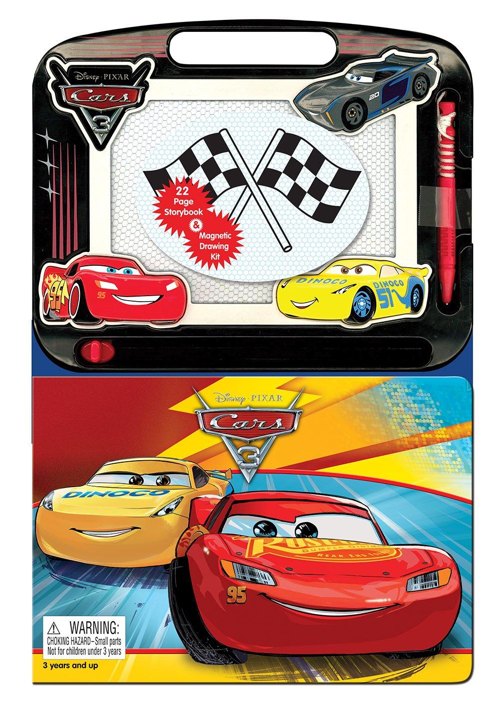 Disney Pixar Cars 3 Learning Series Phidal Publishing Inc