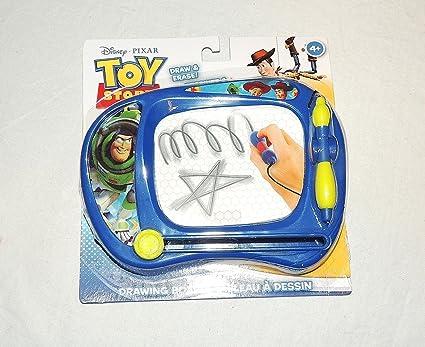 Amazon.com: Toy Story tablero de dibujo dibujar y borrar ...
