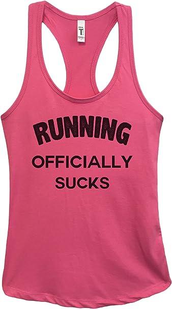 Exercise Tank Top. Running Sucks Burnout Marathon Tank Top Workout Shirt