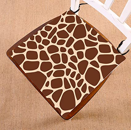 .com: custom giraffe print seat cushion chair cushion floor ...