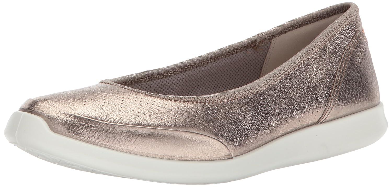 ECCO Womens Sense Closed Toe Slide Flats B0718WK8S8 41 EU/10-10.5 M US|Warm Grey