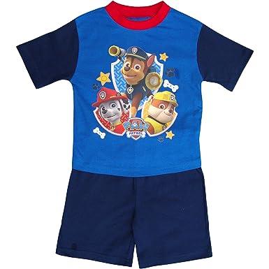 ed2dd78c8 Boy s PAW Patrol Short Blue Summer Pyjamas Set (18-24 Months ...