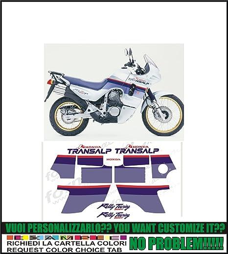 Kit Adesivi Decal Stikers Honda Transalp 600v 50th