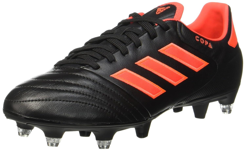 Adidas Copa 17.2 SG, Zapatillas de Fútbol para Hombre 40 EU|Varios Colores (Negbas/Rojsol/Rojsol)