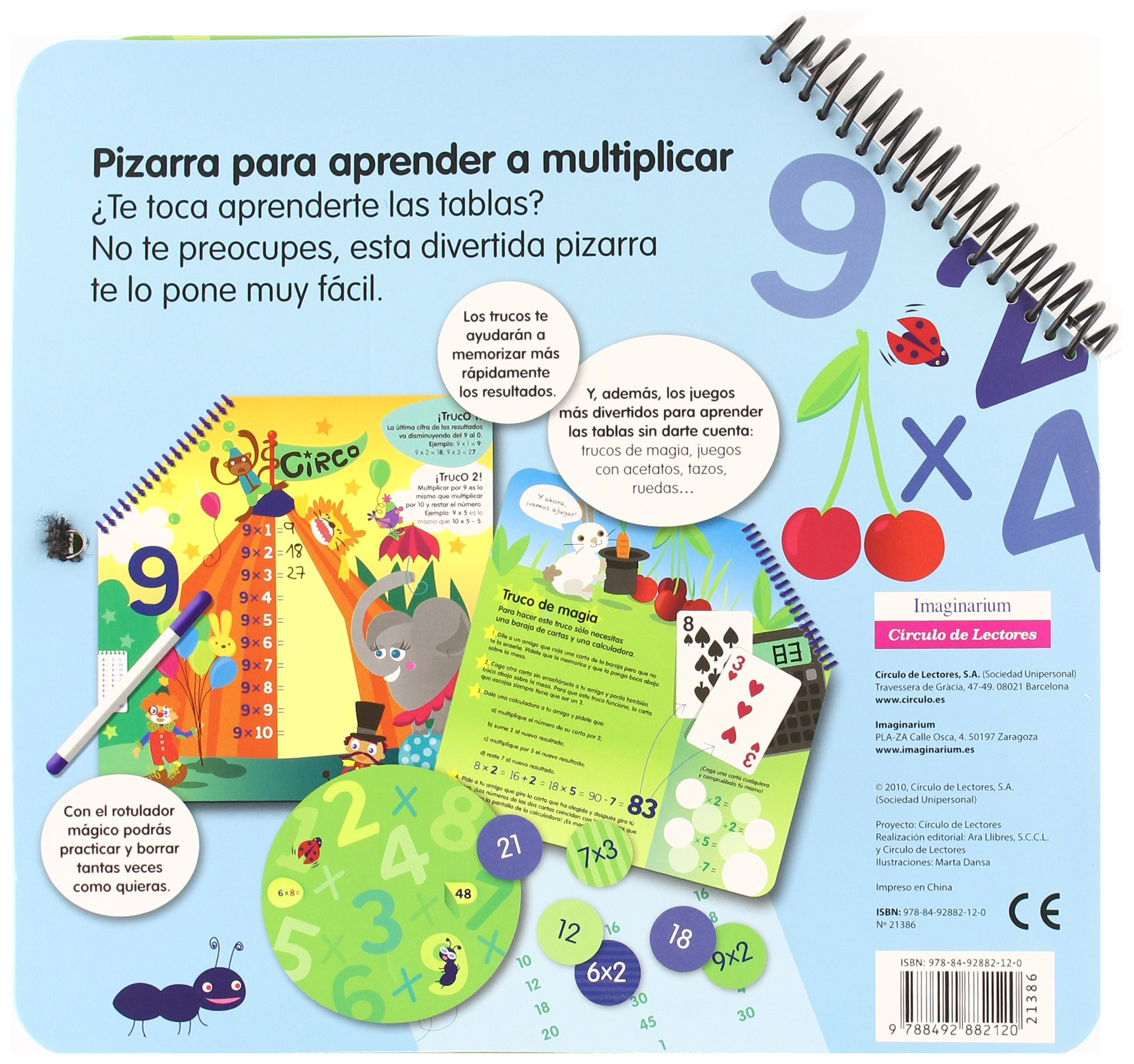 Pizarra de multiplicar: VARIOS: 9788492882120: Amazon.com: Books
