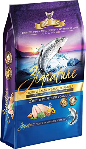 Zignature Dog Small Bites Trout Salmon 13.5Lb