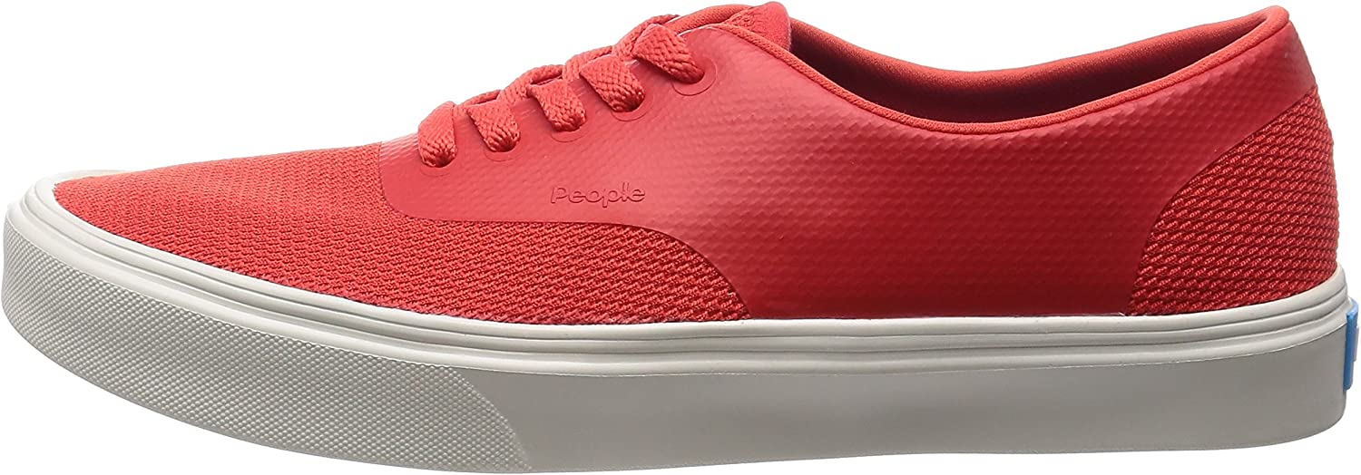 PEOPLE FOOTWEAR THE STANLEY SUPREME RED//PICKET WHITE TODDLER SHOE LIGHTWEIGHT