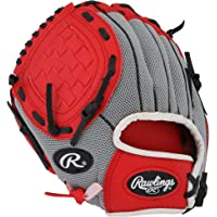 Rawlings Lefty Baseball Glove RED Pro 10 inches PL10SS Professional Tee Ball Pitcher Hand Players Series Leather Pocket…
