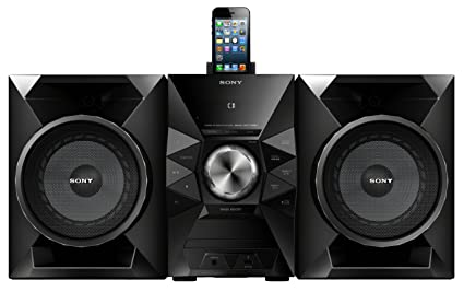 amazon com sony mhcec719ip 470 watts music system home audio theater rh amazon com