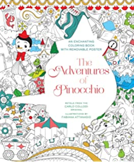 the adventures of pinocchio coloring book - X Rated Coloring Books