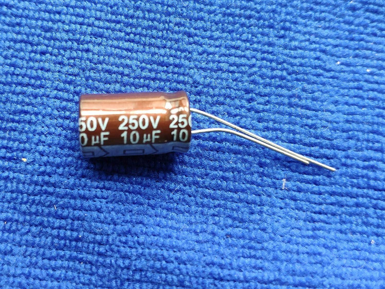 US Stock 20 pcs Electrolytic Capacitors 47uF 250V 105℃ Radial 13x26mm