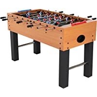 "American Legend Charger 52"" Foosball Table with Abacus-Style Scoring and Internal Ball Return System"
