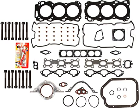 Full Gasket Set Fit 01-04 Infiniti QX4 Nissan Pathfinder 3.5 DOHC VQ35DE