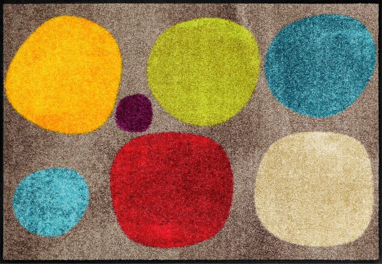 Salonloewe Fußmatte bunt Größe 60x85 cm