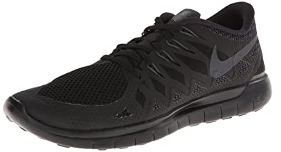 29 New Mens 2014 Nike Free 5.0 Black/Anthracite Running Shoes 642198 020 SZ 12
