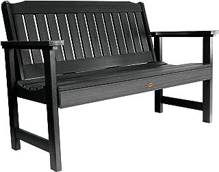 product image for Highwood AD-BENW2-BKE Lehigh Garden Bench, 4 Feet, Black