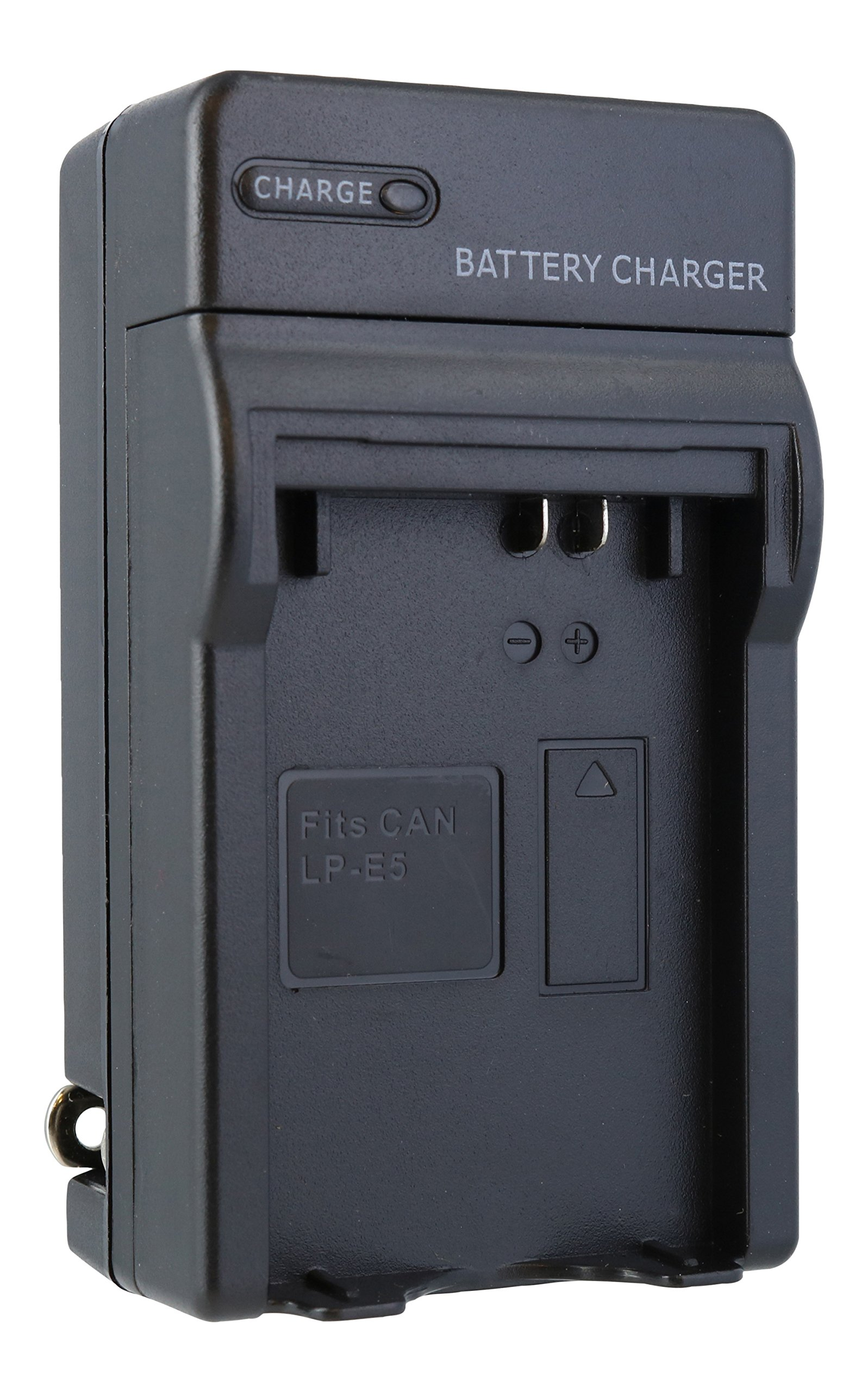 TechFuel Battery Charger Kit for Canon EOS Rebel T1i Camera - For Home, Car and Travel Use