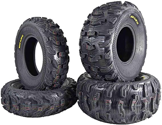 Kenda Bear Claw EX 25x8-12 Front 25x11-10 Rear ATV 6 PLY Tires Bearclaw - 4 Pack Set