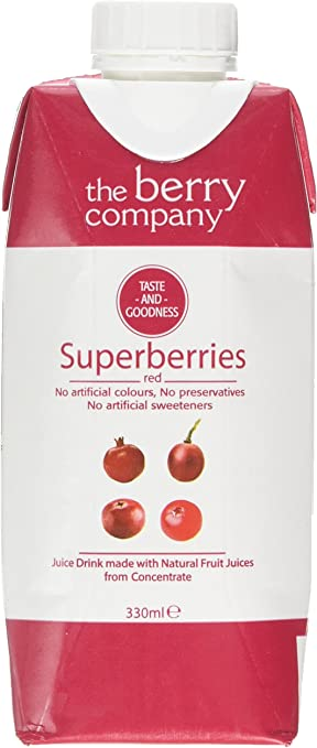 Tbc Supberry Red Juice 330Ml