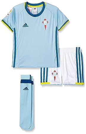 adidas Celta de Vigo 215/16 Conjunto, Niños, Azul (Azucla),