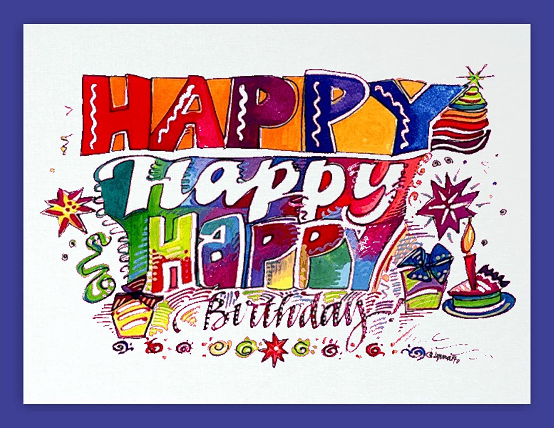 Поздравительная открытка с днем рождения на английском языке 3 класс
