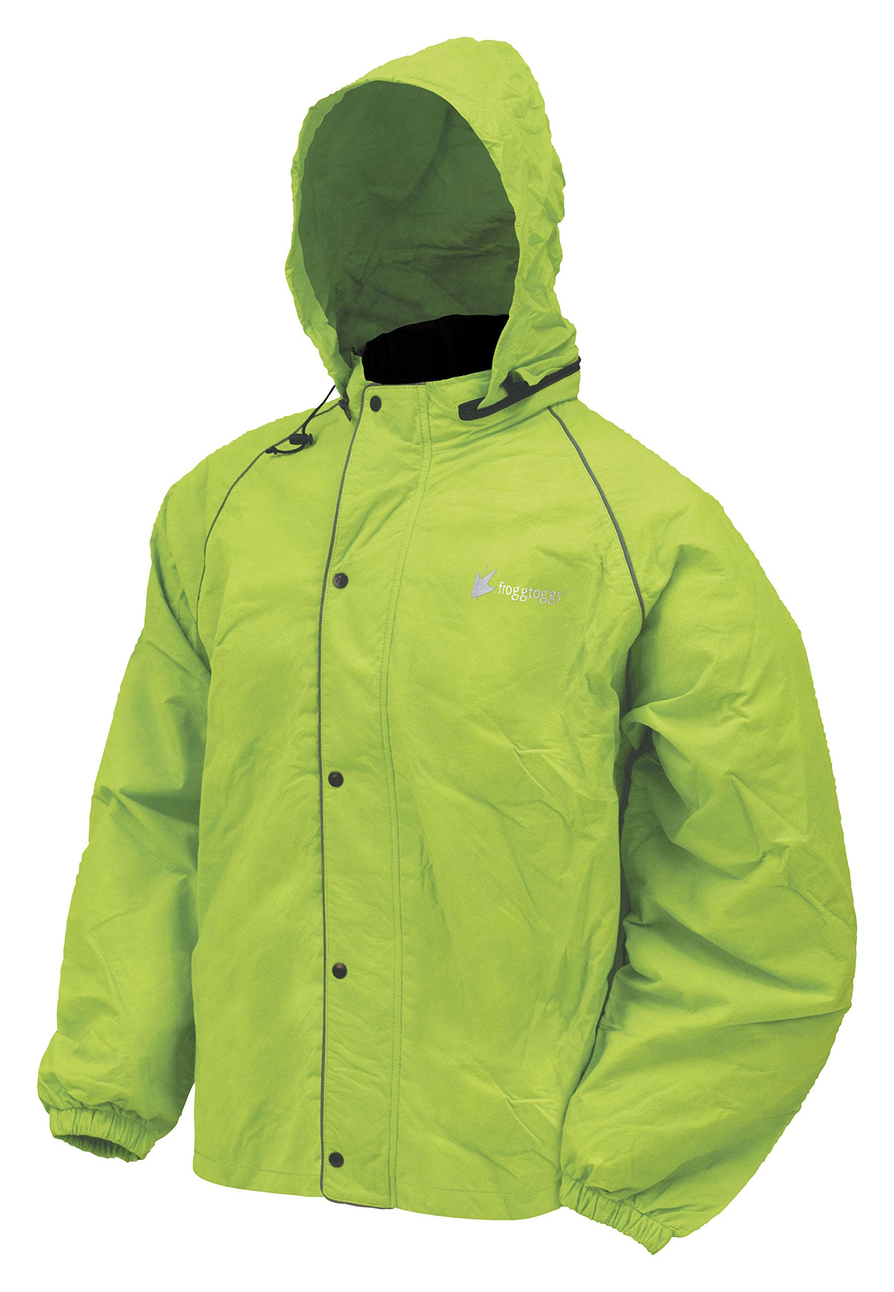 Frogg Toggs Road Toad Reflective Waterproof Rain Jacket by Frogg Toggs