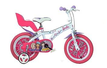 Dino Bikes 146 R-BAB Vélo Fille Barbie 14 Pouces - 4 à 6 Ans  Amazon ... ae361849687f