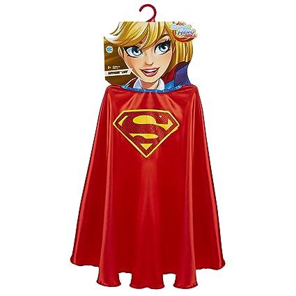 DC Super Hero Girls Supergirl Cape Costume  sc 1 st  Amazon.com & Amazon.com: DC Super Hero Girls Supergirl Cape Costume: Toys u0026 Games