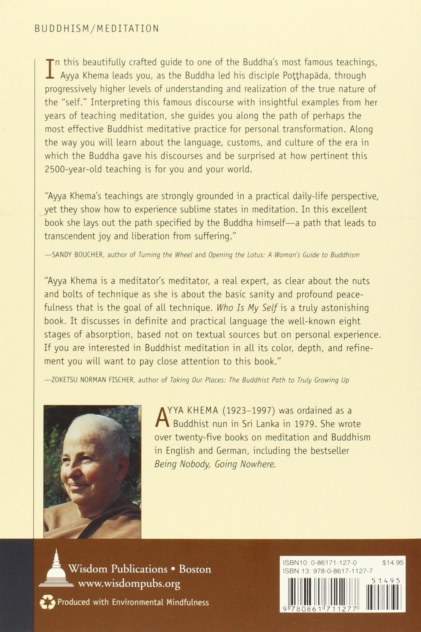 A Guide To Buddhist Meditation (9780861711277): Ayya Khema: Books