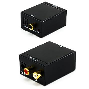 CSL - Convertidor de audio digital a analógico | Convertidor/decodificador | Entretenimiento en casa