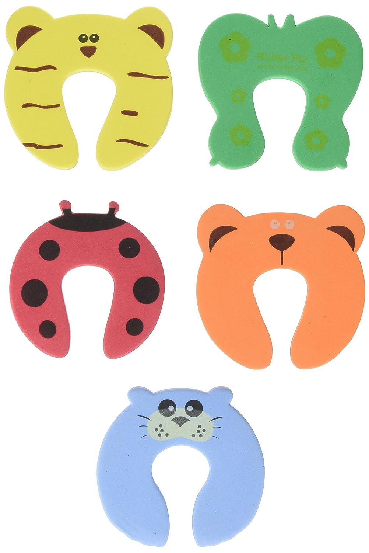 Sodial - Adhesivos de seguridad para niños (5 unidades), diseño de animales: Amazon.es: Hogar