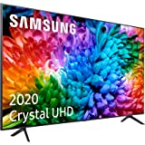 "Samsung Crystal UHD 2020 43TU7105- Smart TV de 43"" con Resolución 4K, HDR 10+, Crystal Display, Procesador 4K, PurColor…"
