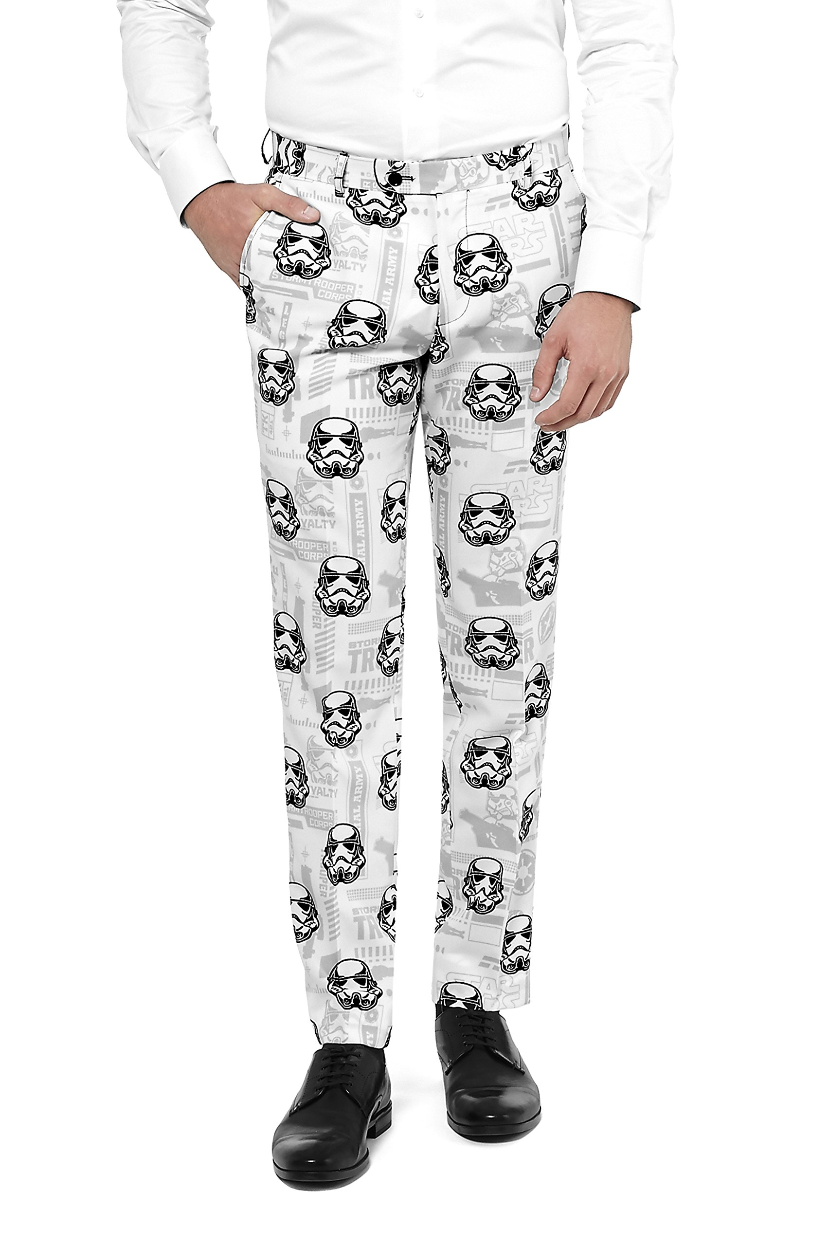 OppoSuits Mens 'Stormtrooper' Party Suit and Tie by, 38 by Opposuits (Image #4)