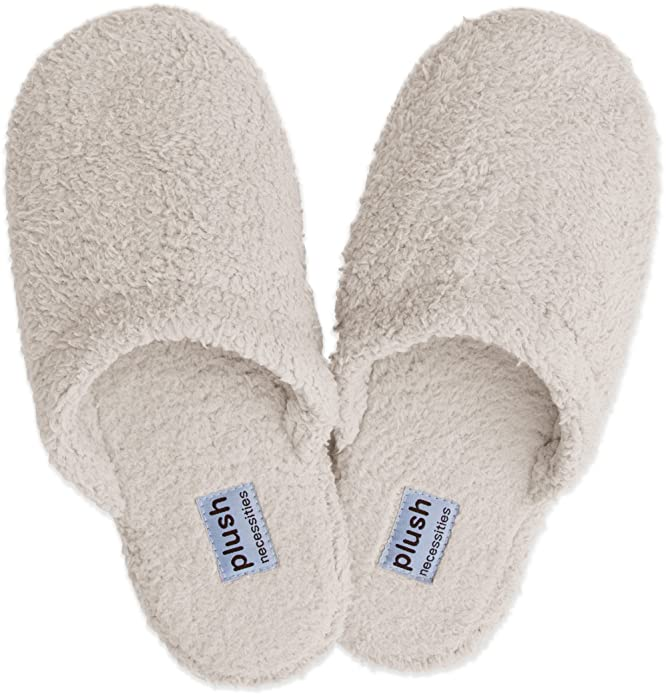 20182017 Slippers Plush Signature Slippers 100% Soft Micro fleece House Slippers For Sales