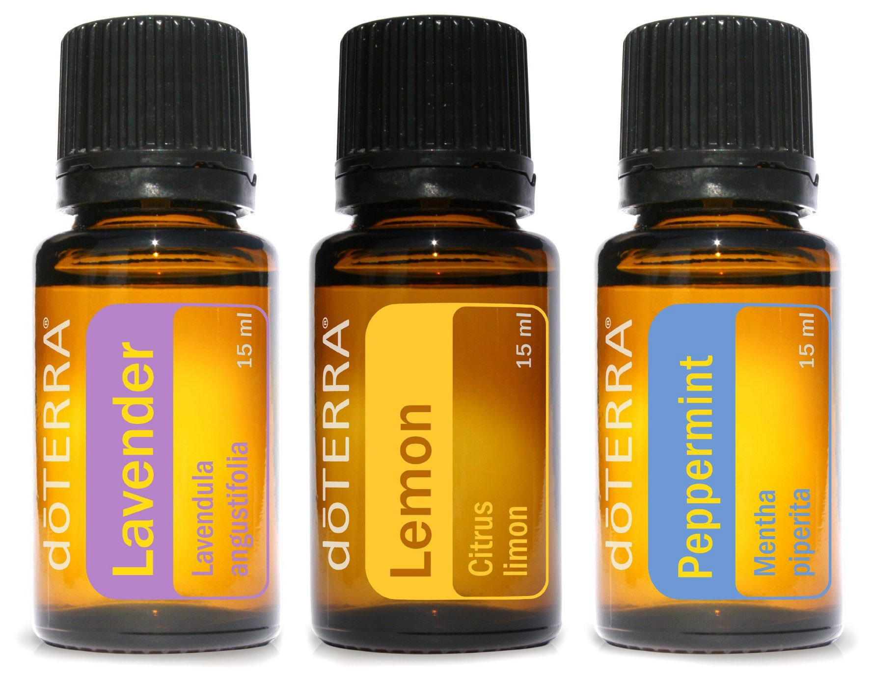 doTERRA - Beginner's Trio Essential Oils - Lavender, Lemon, and Peppermint by DoTerra